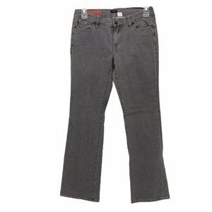 J Crew Womens Boot Cut Jeans Gray Stretch Size 31